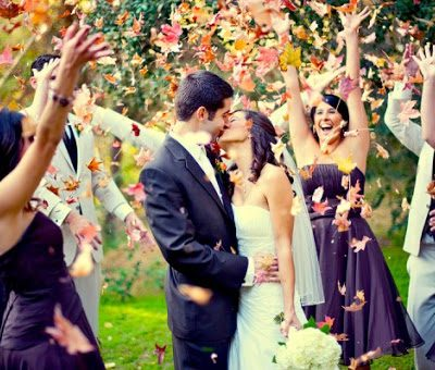 How to come up with the right wedding exit or send off