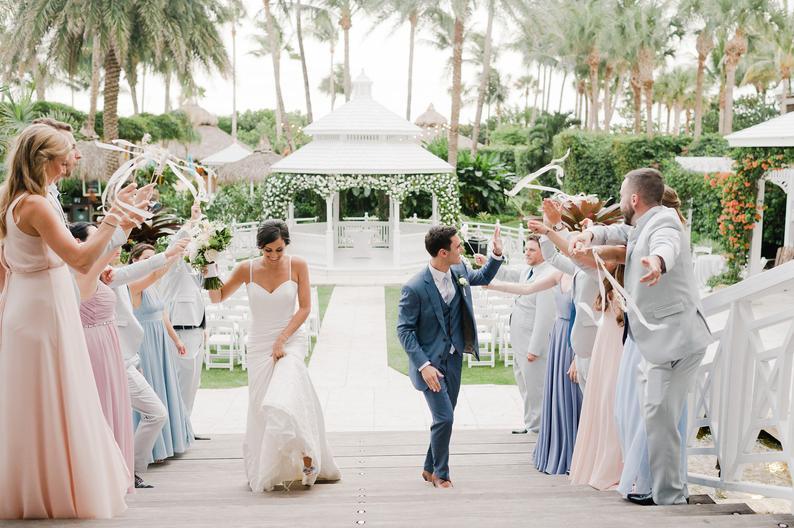 Wedding Send Off Ribbon Wands