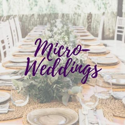 Micro weddings as the trend